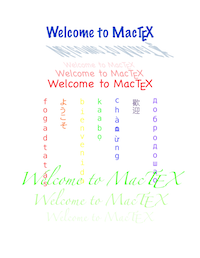 Trying out TeX - MacTeX - TeX Users Group